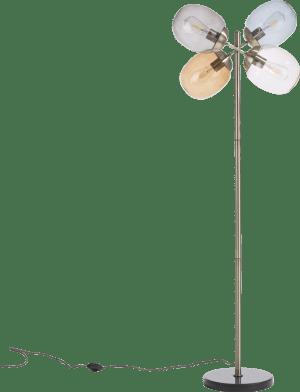 brandon, vloerlamp 4-lamps (e-27)