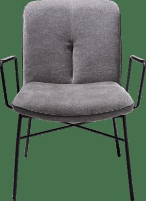 lounge met arm - stof enova