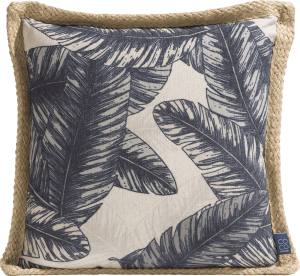 cushion banana leaf 45 x 45 cm
