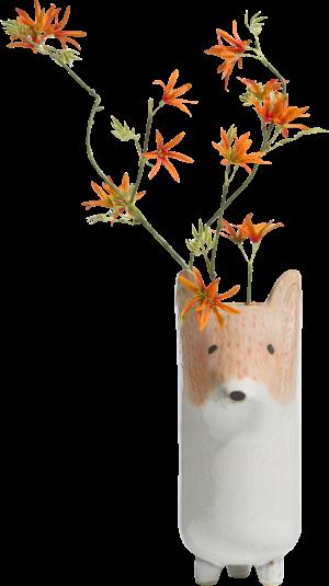 vaas fox - hoogte 31 cm