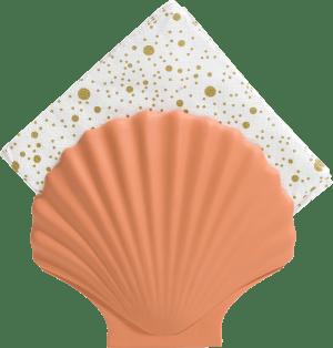 servietten halter shell