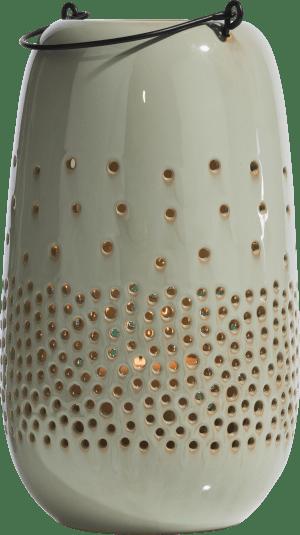 windlicht bubbles - hoehe 32 cm