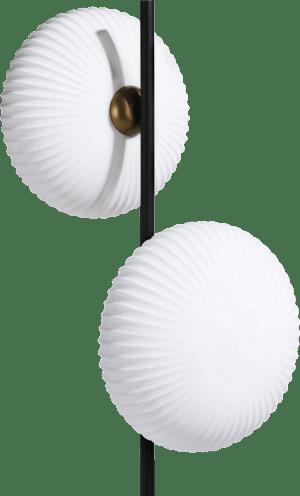 david, lampe sur pied 2-ampoules