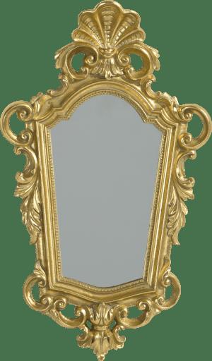 mirror barok 36 x 21 cm