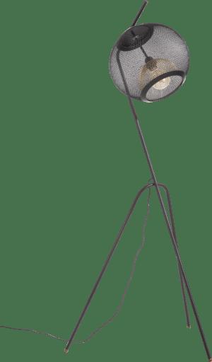 marco, vloerlamp 1-lamp (e27) met dimmer