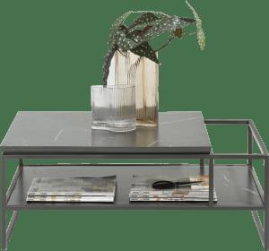 salontafel 90 x 60 cm + 1-niche