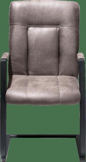 armlehnstuhl - schwarz gestell - 3 farben rocky + handgriff