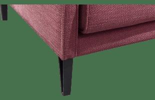 Pied Design H17.5 Cm Noir Mat