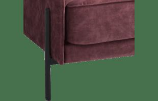 Pied Design H37.5 Cm Noir Mat