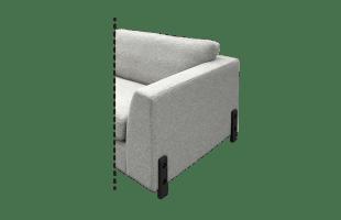 Pied Design H25 Cm Noir Mat