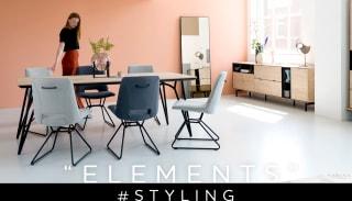 """Inspiratie voor een minimalistisch interieur met collectie """"ELEMENTS"""""""