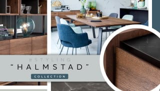 """Inspiratie voor een Scandinavisch interieur met collectie """"HALMSTAD"""""""