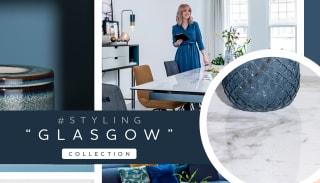 """Inspiratie voor een warm minimalistisch interieur met collectie """"GLASGOW"""""""