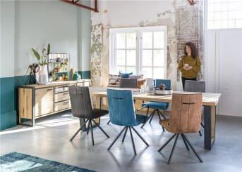 Regel 2: Geben Sie Ihrem Interieur mit Stein, Glas oder Beton eine neue Wendung