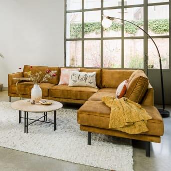 1. Canapé moelleux et ultra confortable