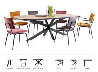 Configurez votre table maintenant!