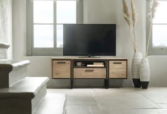 Meuble TV : le meuble de rangement qui habille votre espace multimédia
