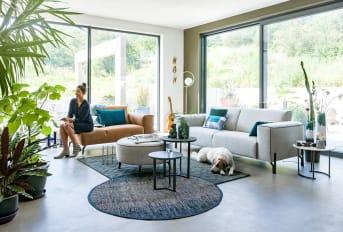 Canapé moderne au design unique