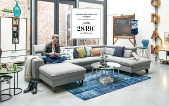 Canapé lounge XXL URBAN