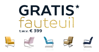 Gratis Angelica fauteuil t.w.v. €399