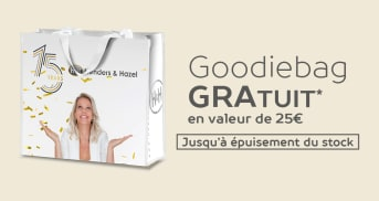 Goodiebag gratuit en valeur de 25€
