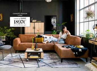 canapé d'angle Lima