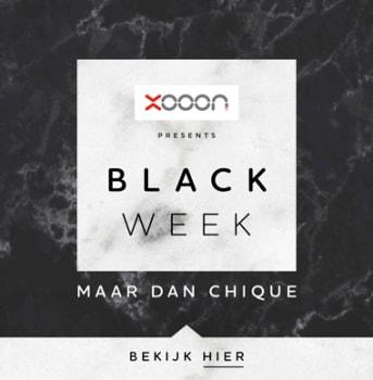 Black Week, maar dan chique