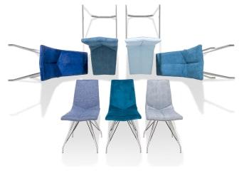 Benötigst du moderne Esszimmerstühle für dein Zuhause? Dann wird dich der Designer Esstischstuhl ARTELLA begeistern! Diese Esszimmerstühle verfügen über ein elegantes Gestell aus hochwertigem Edelstahl. Genieße den luxuriösen Sitzkomfort von deinem neuen Designer Esstischstuhl! Wähle Farbe und Bezug ganz nach deinem persönlichen Geschmack: Bevorzugst du Stoff oder Kunstleder für deine Esszimmerstühle? Besonders schick ist auch eine Kombination aus Stoff und Kunstleder! Du entscheidest! Wie viele Esszimmerstühle passen an deinen Esstisch? Mit dem Designer Esstischstuhl ARTELLA findet sich vielleicht noch der ein oder andere Überraschungsgast bei dir ein! Lade deine Freunde ein und präsentiere stolz den Komfort und die Eleganz von dem Designer Esstischstuhl ARTELLA.