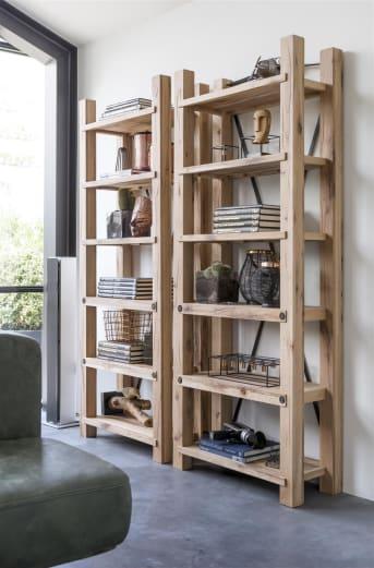 Schön in all seiner Einfachheit! Dieses Bücherregal aus der Maitre-Kollektion von Henders & Hazel ist schlicht im Design. Dadurch passt das Regal in fast jedes Interieur. Sie haben nicht weniger als 6 Planken, um Ihre Bücher und/oder schöne Dekorationen auszustellen. Das Bücherregal ist in 3 verschiedenen warmen Holzfarben erhältlich.