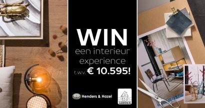 Dé winactie van het jaar: jouw interieur experience!
