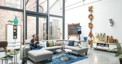 """""""URBAN"""": de perfecte salon voor een stadse levensstijl"""