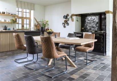 Une finition parfaite : un mobilier avec surpiqûre