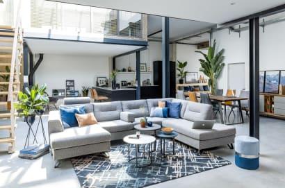 Comment aménager une grande pièce à vivre ?
