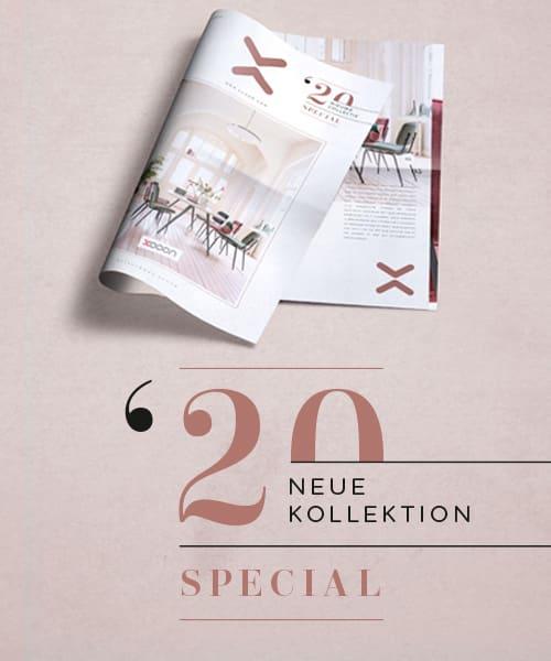 Wir schicken dir das Neue Kollektion Special kostenlos zu