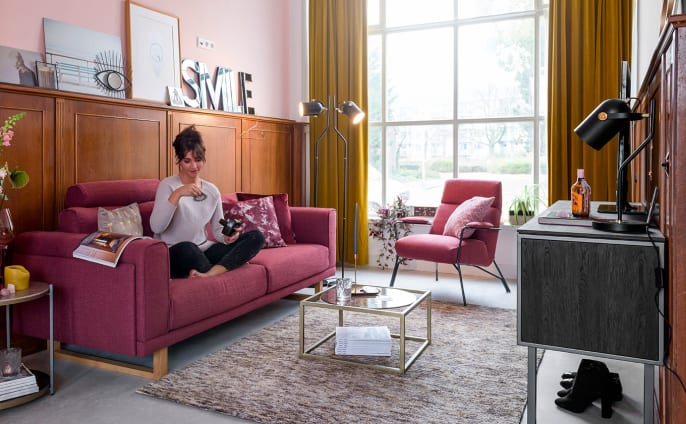 The SORINI sofa made by XOOON