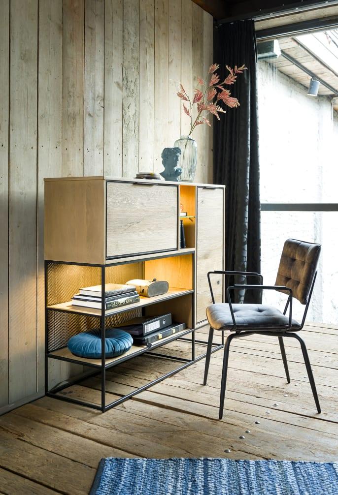 Mettre en valeur les meubles à LED intégrées