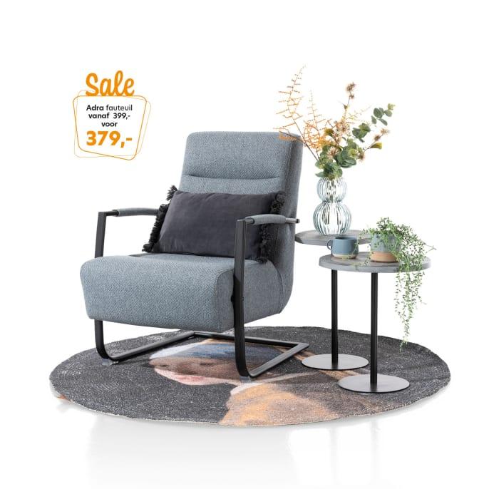 Adra, de fauteuil die overal staat