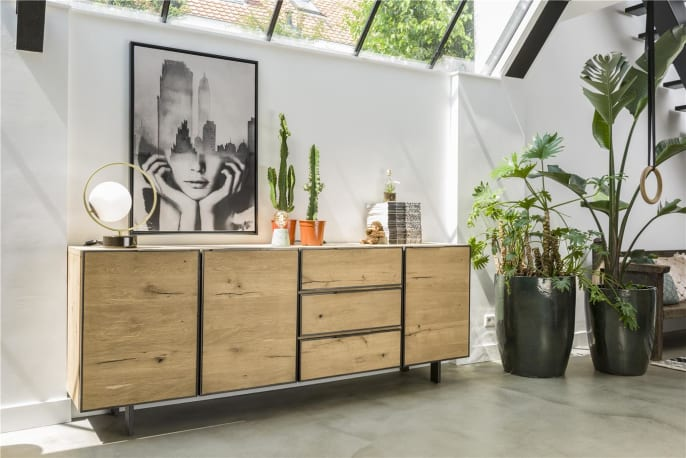 Ein persönliches Interieur in natürlichem Stil