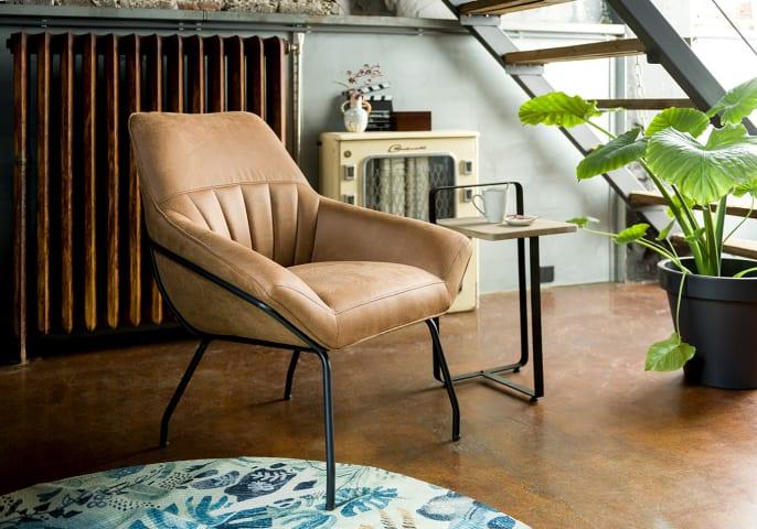 Les fauteuils avec surpiqûre