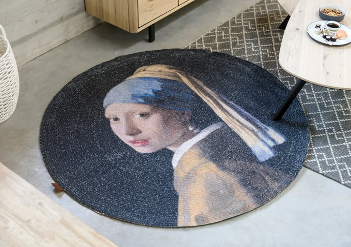 Le tapis rond