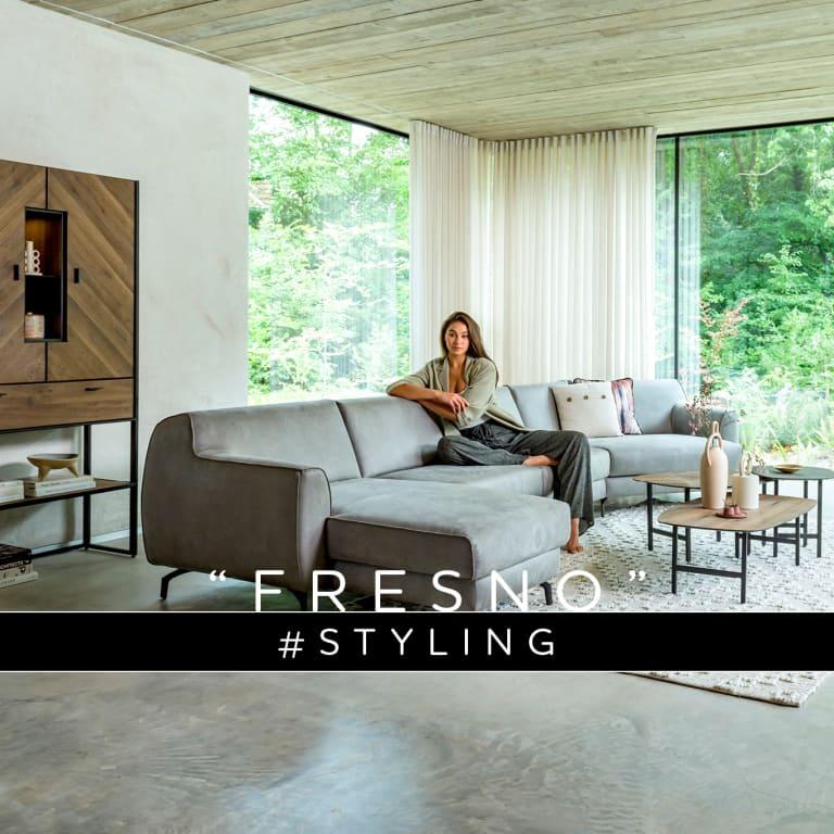 """Een modern industrieel interieur inrichten met collectie """"FRESNO"""""""