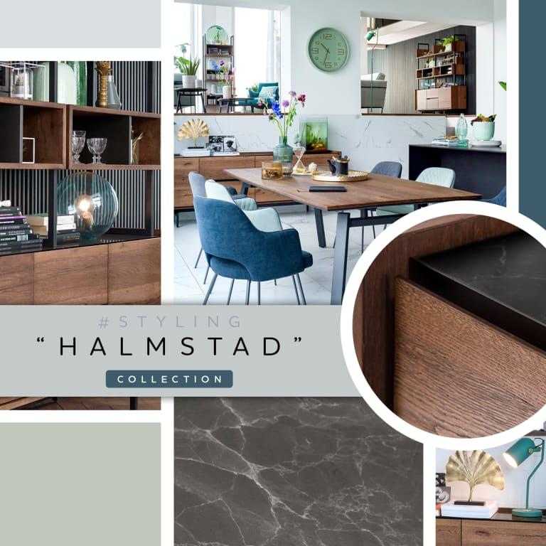 """Inspiration pour un intérieur scandinave avec la collection """"HALMSTAD"""""""