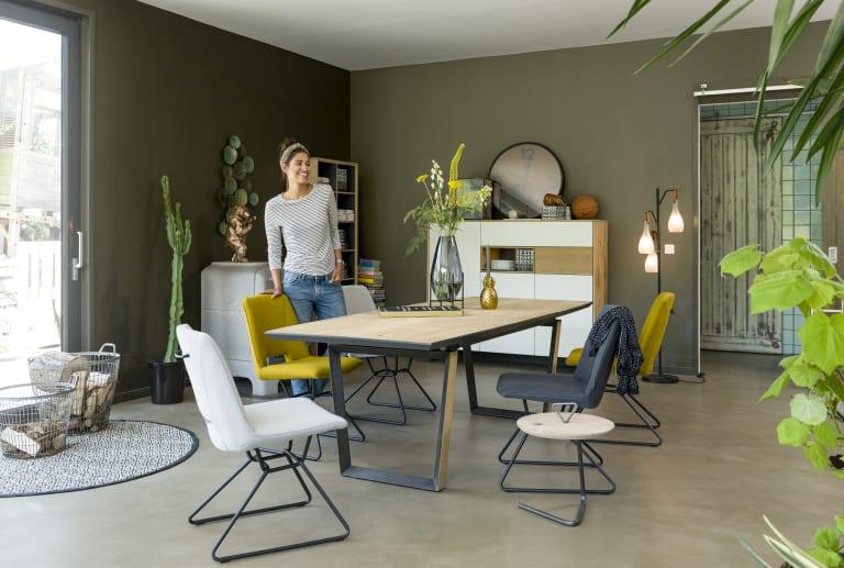 Choix de la table à manger : osez les pieds de tables originaux